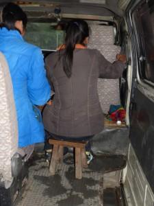 BfU geprüfter Notsitz im Kleinbus