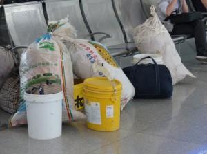 Chinesisches Reisegepäck