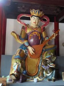 Figur aus dem Tempel